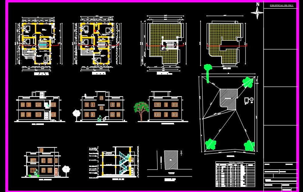 Residential Building Submission Drawing 30 X40 Dwg Free Download Autocad Dwg Plan N Design