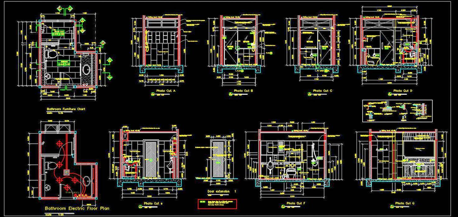 Toilet Detail Drawing Autocad DWG File Download