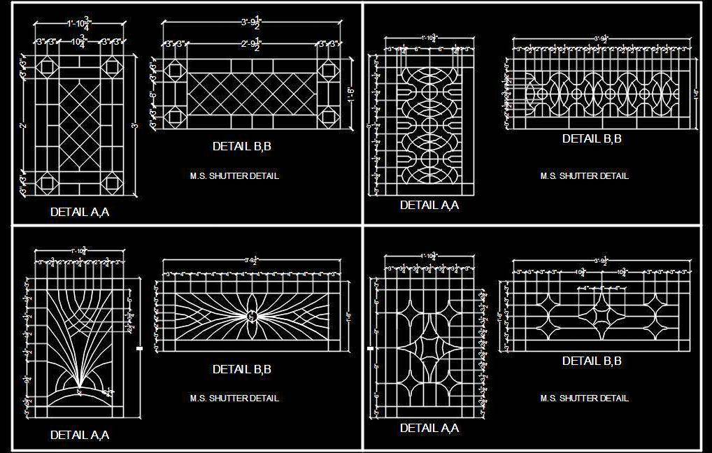Wrought Iron Fence Cad Block Dwg Cad File Autocad Dwg Plan N Design