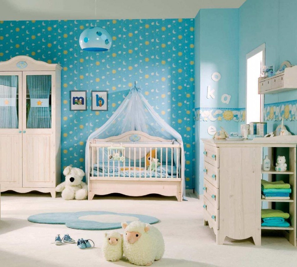 Baby Nursery- Creative Interior Decor Ideas