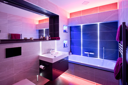 Use of Different Lights in a Bathroom can Make it Look Stylish