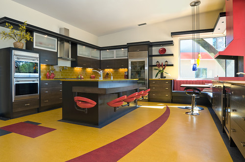 Bright Colorful Kitchen Designs To Fall In Love With