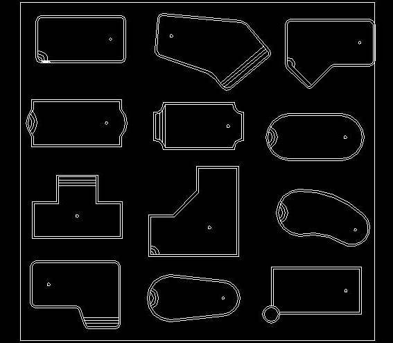 Swimming Pool Different Shapes Autocad Dwg Plan N Design