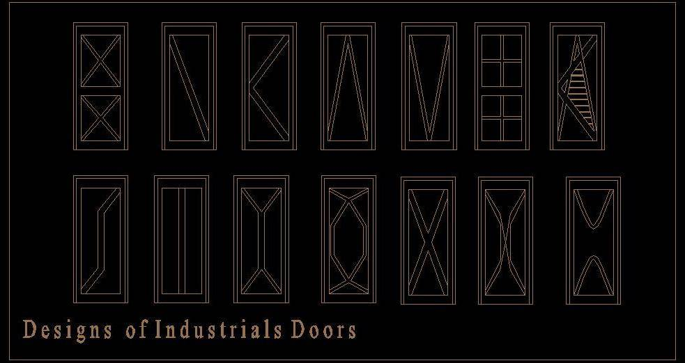 Industrial Door Designs