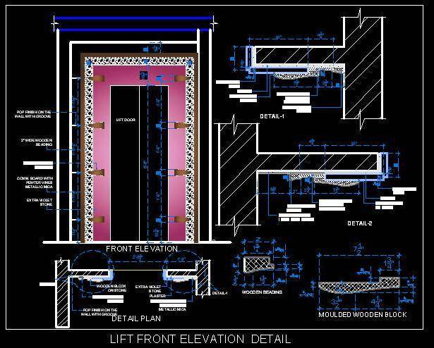 Lift front elevation detail.dwg