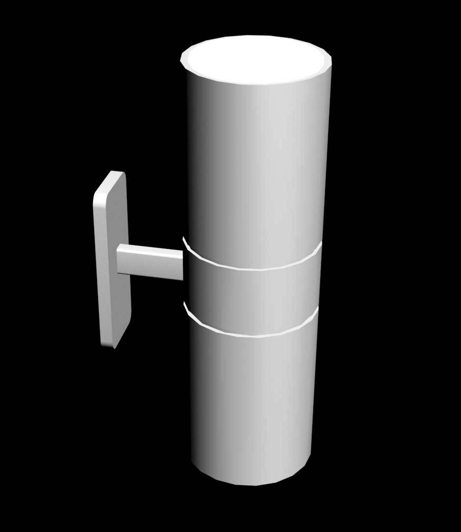 Up and Down Wall Light 3d Model