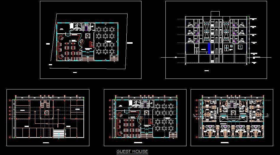 Guest House Hotel Design
