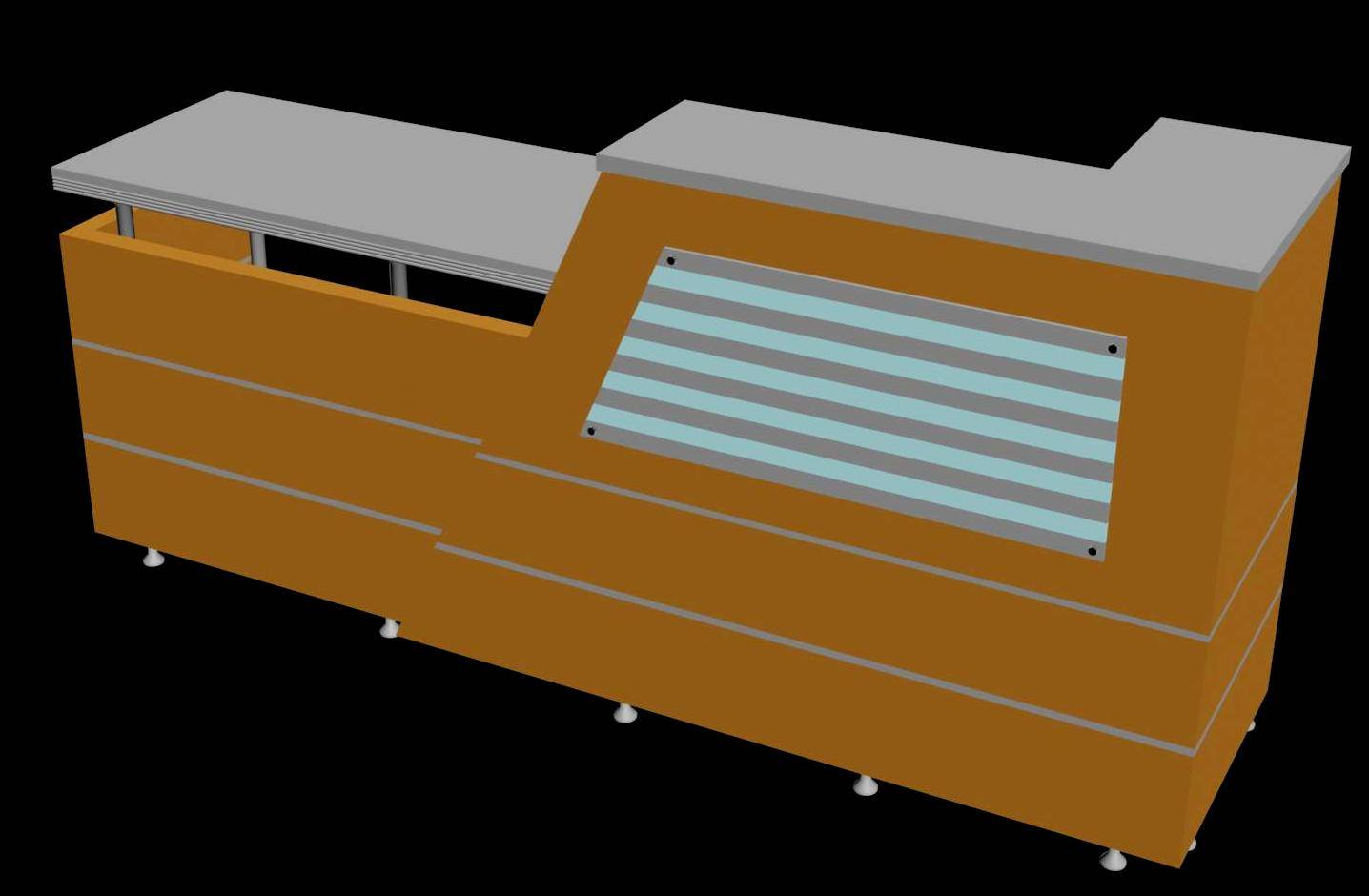 Reception Desk 3d
