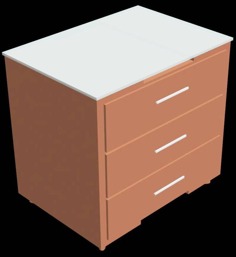 Bed Side Table 3d