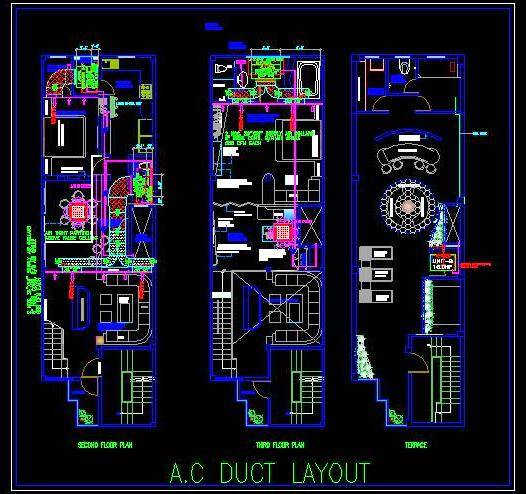Hvac Drawing Dwg | Wiring Diagram