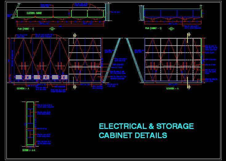 Electrical and Storage Cabinet