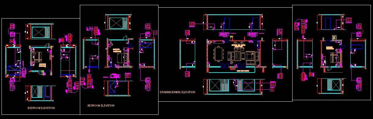 Electrical Layout of Residence Areas