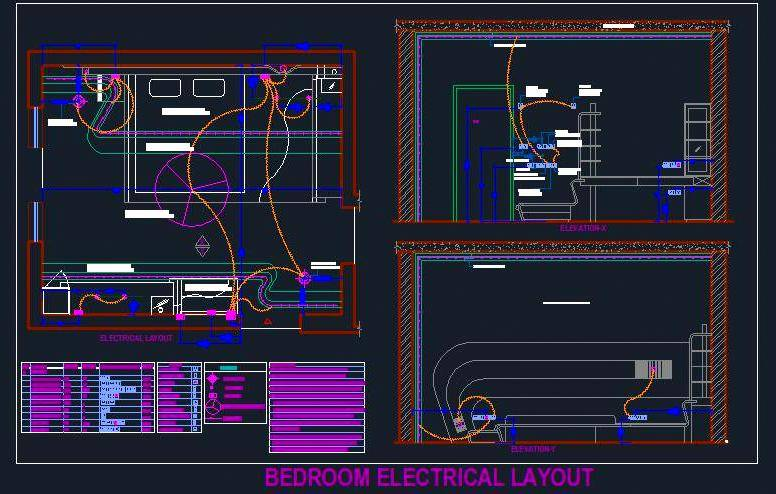 Bedroom Electrical Design