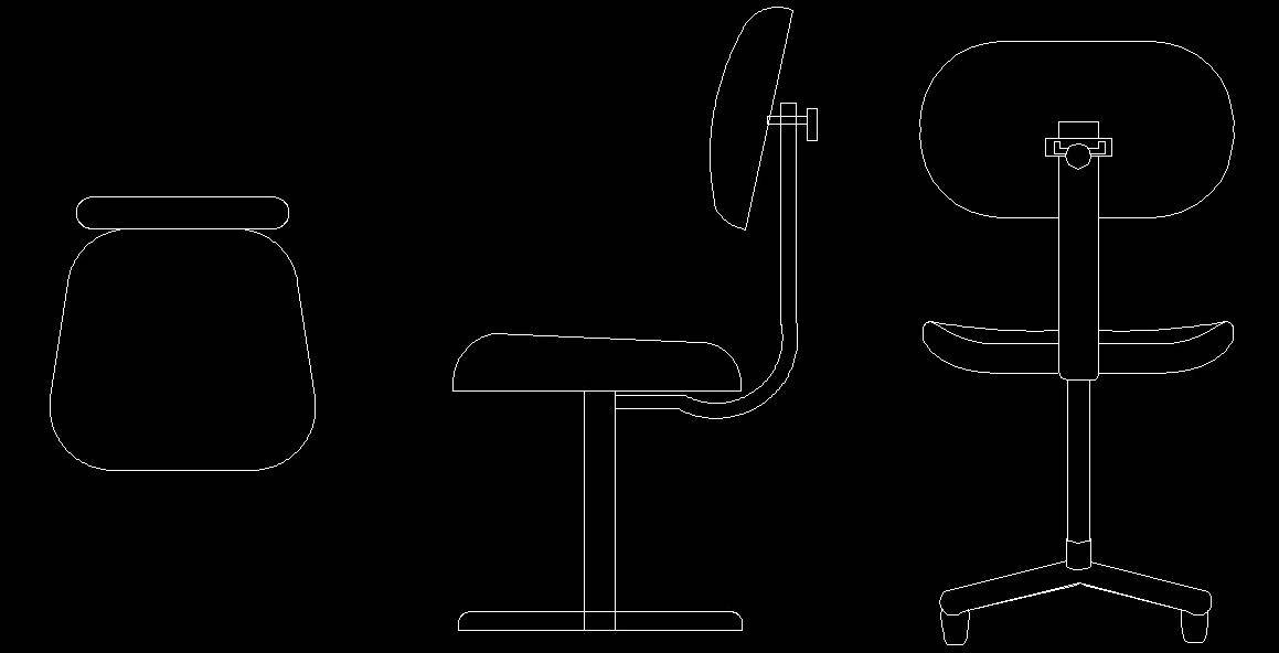 Sensational Executive Chair Cad Block Autocad Dwg Plan N Design Gmtry Best Dining Table And Chair Ideas Images Gmtryco
