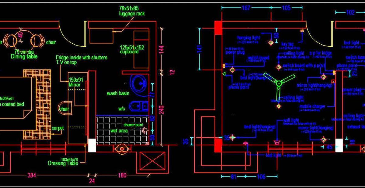 Hotel Guest Room Furniture Layout Plan Free Download ...