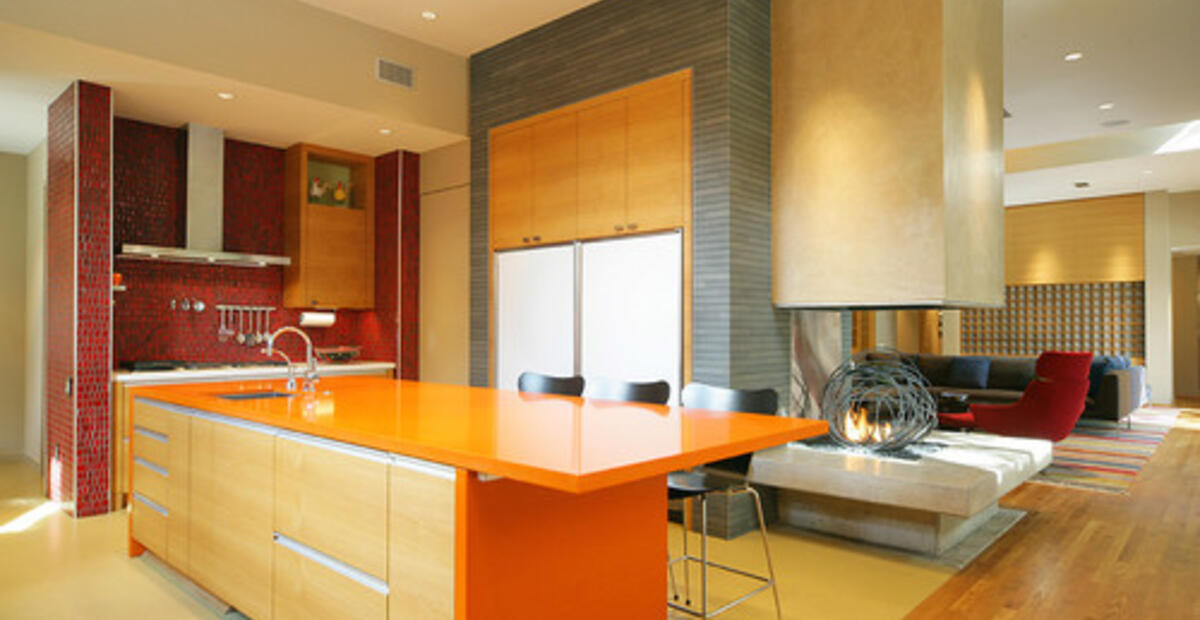 9 Bright Colored Kitchens To Buck You Up Plan N Design