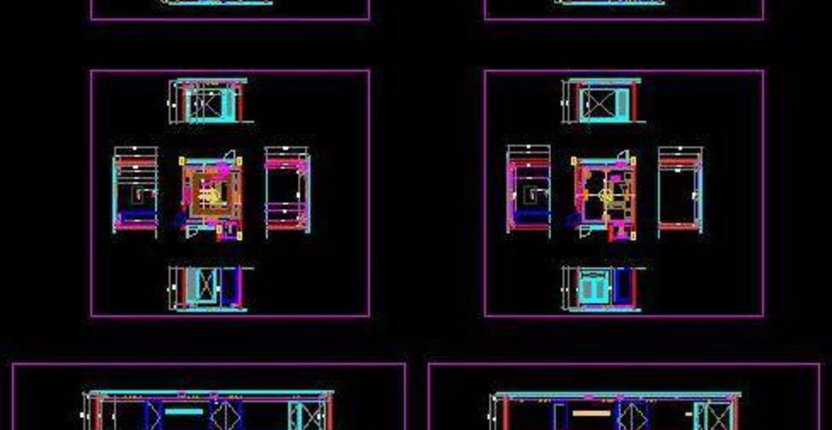 RCP and HVAC of Bedroom and Drawing Room - Autocad DWG | Plan n Design | Hvac Drawing Dwg Download |  | Plan n Design