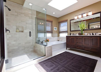 Bathroom Shower Enclosure Idea
