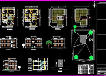 Download Drawings from category Residential - House