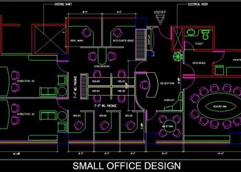 Download Drawings from category Commercial - Office | Plan n