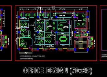 An Office Layout Space Planning