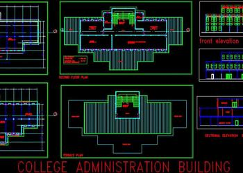 Office Administration Building Design