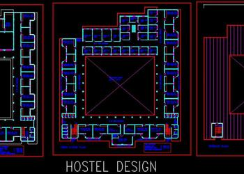 School Hostel Floor Plans