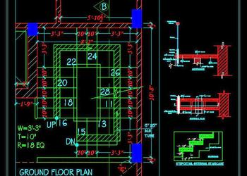 Download Drawings from category - Engineering or Building