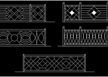 Railing Cad Block DWG Drawing Download