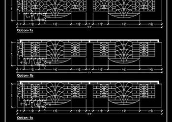 Download Railing Design Free Cad Block
