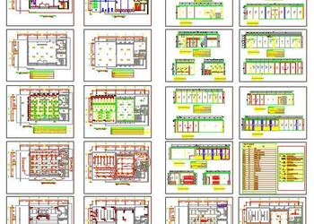 Clubhouse Architecture Design DWG Drawing