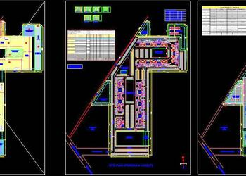 Group Housing Complete Project CAD Detail