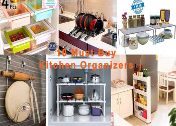 10 Must Buy Kitchen Space Saving Organizers- Upgrade Your Small Kitchen