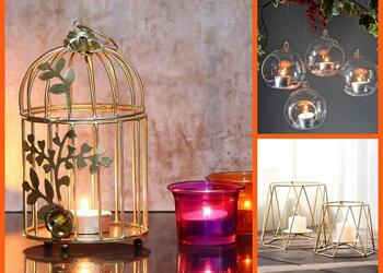 10 Dazzling Tealight Candle Holders for a Festive Diwali Makeover