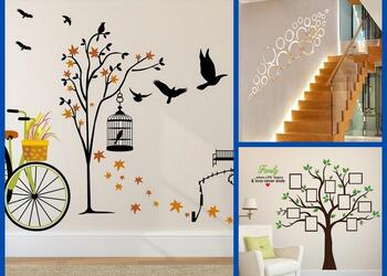 10 Magical Wall Stickers That Will Give Your Home a Quick Makeover in a Few Minutes