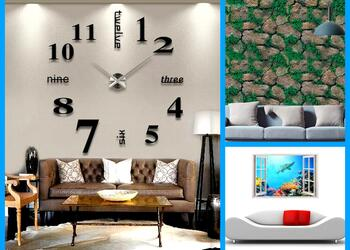 Take your Home Decor to the Next Level with These 10 3D Wall Stickers