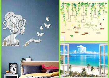 10 Wall Stickers For Bedroom to add some Vibrance to your Interior