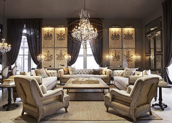 Chandeliers in a Living Room can Make a Huge Difference