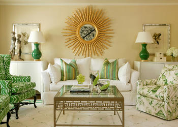 Luxury Living Room Decor Ideas With Golden Touch