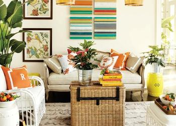 12 Ways to Get a Colourful Living Room