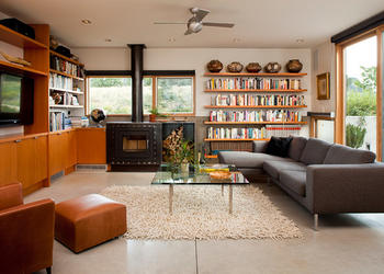 Incredible Living Room Decor Which Is Rich In Style & Books