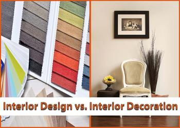 Interior Design vs. Interior Decoration
