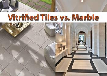 What to choose: Vitrified Tiles vs. Marble for Flooring?
