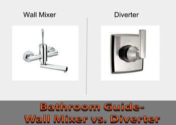 Bathroom Guide-Wall Mixer vs. Diverter- What To Buy?