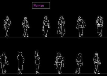 Different Blocks of Girls and women