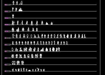 All types of Human Figure Blocks