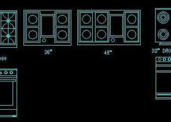 Download Drawings from category Blocks - Appliances and