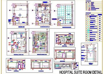 Hospital Suite Room Detail