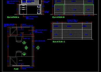 Workstation Design Elevation Detail