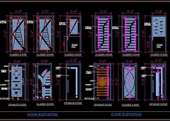 Glass Etched Door Designs